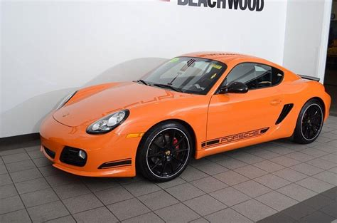 orange porsche 2012 pastel orange porsche cayman r cars for sale
