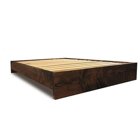 rustic platform bed frame platform bed frame modern and rustic simple platform bed
