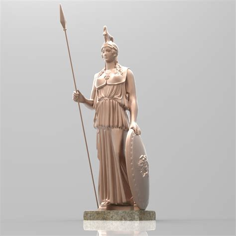 Kitchen Designers Jobs by Athena Statue 3d Model Max Cgtrader Com