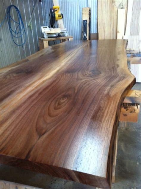 Wood Countertops Toronto by Live Edge Walnut Countertop Modern Kitchen Toronto