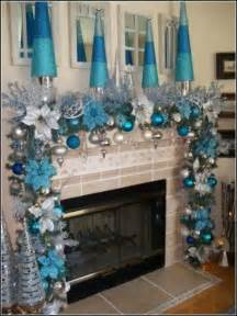 25 best ideas about blue christmas decor on pinterest