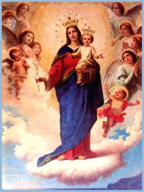 imagenes la virgen maria auxiliadora oraciones de los santos para peticiones oracion a maria