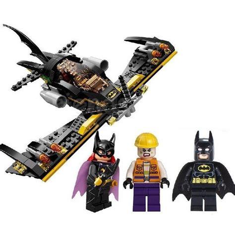 Batwing Set Choco 02 batman tumbler batmobile batwing joker compatible with lego dc building blocks marvel