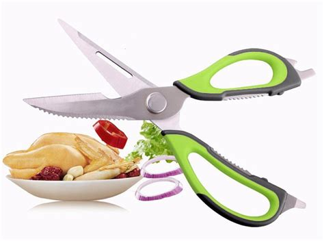 kitchen scissors knife multifunction stainless steel fish hot quality kitchen scissors knife for fish chicken