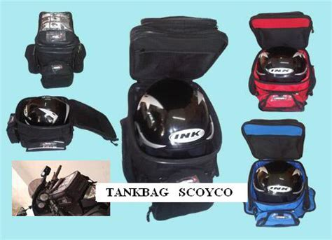Tas Helm Tangki baru side bag sidebag alpinestars mokita tank bag scoyco
