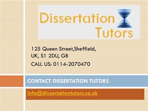 dissertation tutors dissertation tutors
