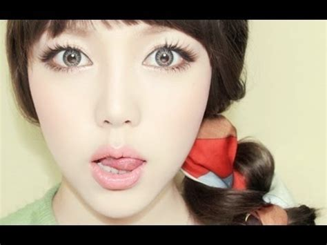 tutorial makeup ulzzang ulzzang inspired makeup tutorial youtube