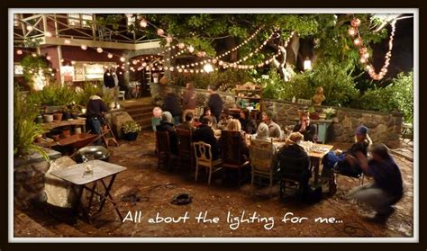 Favorite Show And Favorite Patio It S All About The Lighting For Me Too