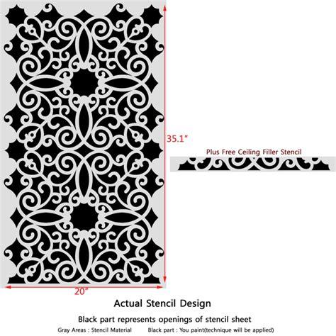allover pattern definition in art wall stencil pattern kalaat allover stencil for modern