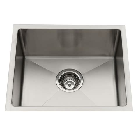 Bunnings Kitchen Sinks Sink Squareline Everhard 450x390mm Sgl Undermount 73148 Bunnings Warehouse