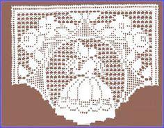 Bonet Bando cortinas de croche gr 225 fico para cozinha pesquisa