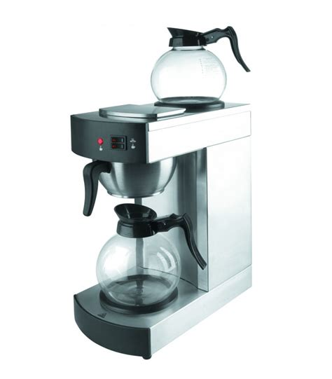 coffee maker table coffee maker with 2 jugs glass of lacor