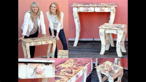 reciclar muebles de pino vintage sublimacion patinas youtube