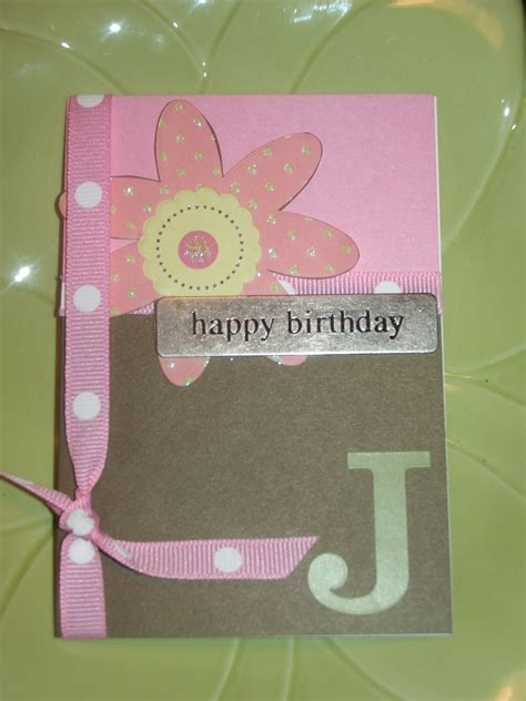 Stylish Handmade Cards - gotta make it handmade birthday card inspireme crafts