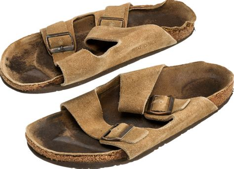 smelly sandals steve s smelly sandals just sold at auction