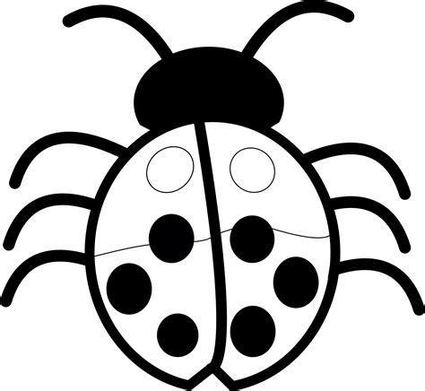 black and white clipart ladybug clipart black and white clipart panda free