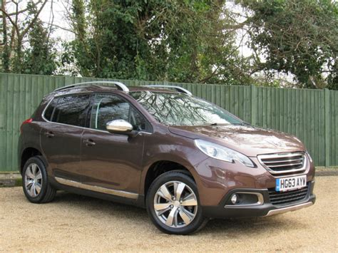 used peugeot suv for sale used brown peugeot 2008 for sale dorset