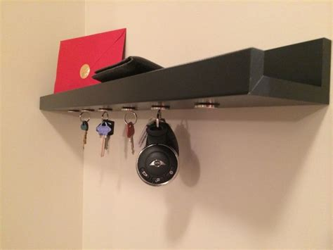 ikea picture ledge hack hack an ikea ribba picture ledge into a magnetic key