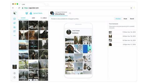 instagram layout planner app how to schedule 1 week of instagram posts in 20 minutes