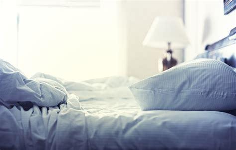 bed full of pillows wallpaper morning light joy mood blanket pillow