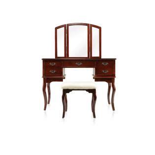 Furniture Of America Grand Amelia Vanity Set With Stool by Furniture Of America Grand Amelia Vanity Set With Stool