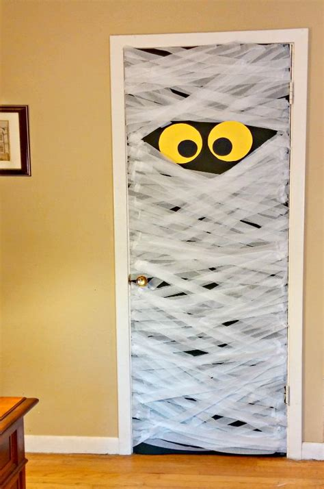 Mummy Door by Diy Mummy Door Decoration Always The Holidays