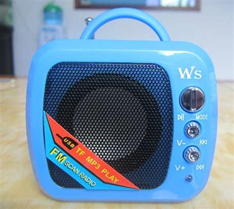 Speaker Portable Yestosa Ws 575 new tpye mini portable speaker audio speaker mini speaker