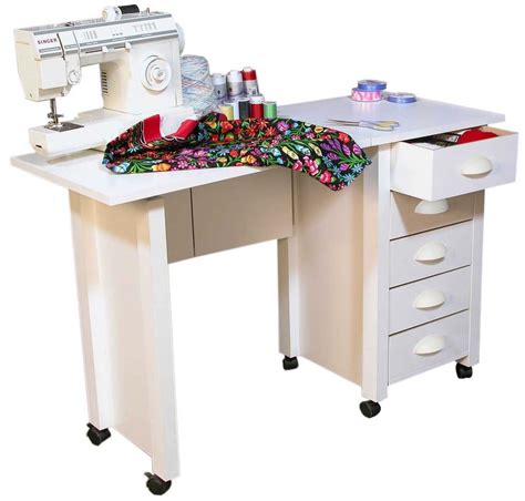 Mobile Sewing Desk mobile folding desk sewing machine craft table home sewing