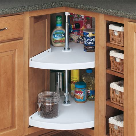 how to fix a lazy susan kitchen cabinet rev a shelf traditional quot door mount pie cut 2 shelf