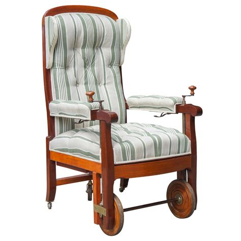 Mechanical Chair by 19th Century Invalid S Mechanical Chair
