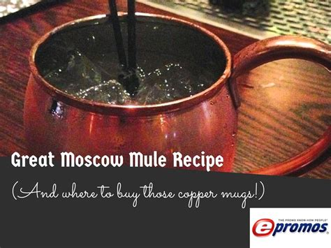 Great Moscow Mule Recipe (And Where To Buy Those Copper Mugs)