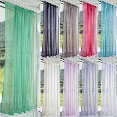 pastel green curtains lucy pastel green woven voile slot top curtain panel 58