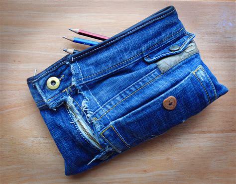 Handmade Denim - handmade recycled denim pencil