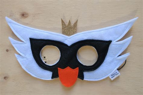 swan mask template white swan mask felt