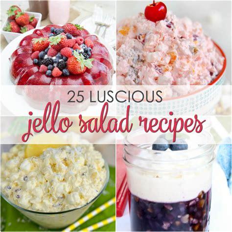 jello recipes quick easy jello salad recipes