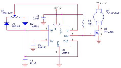 transistor mosfet para pwm circuito pwm simple con 555 y irfz46n www pesadillo