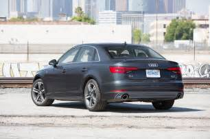 Audi A4 Zero To 60 2017 Audi A4 Quattro Test Review