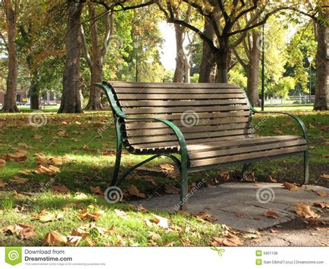 park benches melbourne bench carlton gardens melbourne australia stock photo