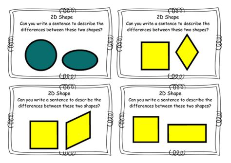 Difference Between One Year And Two Year Mba by Year 2 2d Shape Similarities Differences Task