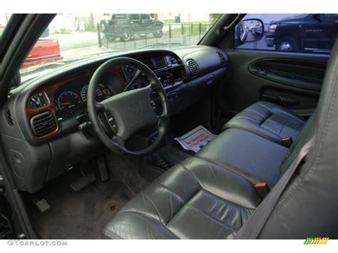 agate black interior 1999 dodge ram 1500 sport extended