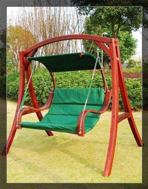 Patio Swing Modern Top 25 Best Wooden Garden Swing Ideas On
