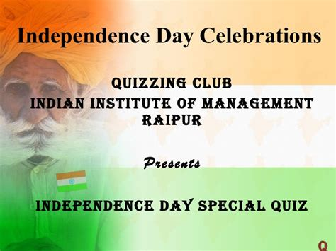quiz questions related to independence day of india quiz finals