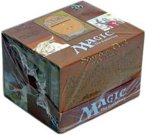 unlimited starter box of 10 decks mtg magic the