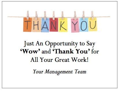 thank you letter to a great team gthankyou makes it easy to your workplace thank you