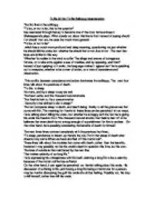 Hamlet To Be Or Not To Be Essay by Buy A Essay For Cheap Hamlet Essay Questions And Answers