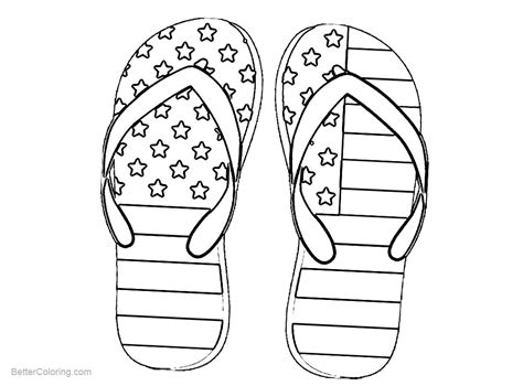 patriotic coloring pages patriotic coloring pages shoes with flag pattern free