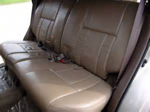 Seat Covers For Toyota 4runner 1997 Toyota 4runner Genuine Leather Seat Covers