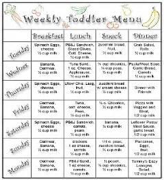 daycare food menu template toddler weekly menu idea menu ideas for
