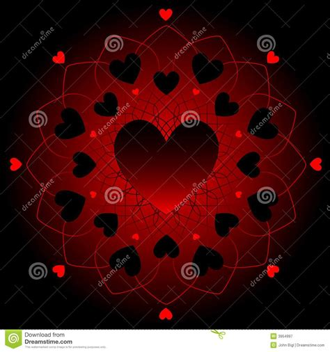 imagenes corazones oscuros corazones oscuros en cord 243 n fotograf 237 a de archivo libre de