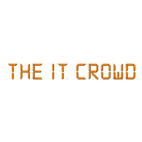 The It by The It Crowd Font Delta Fonts